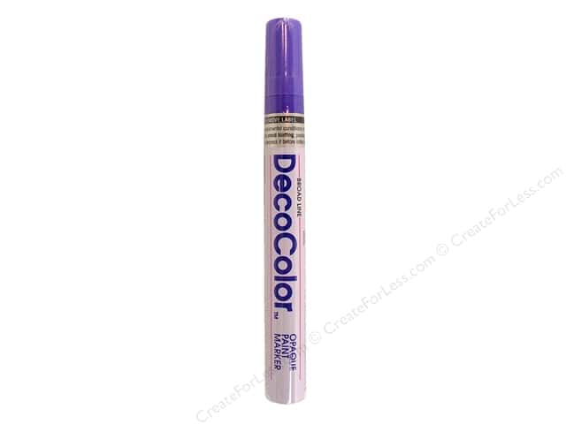 Uchida DecoColor Paint Marker Broad Point Violet