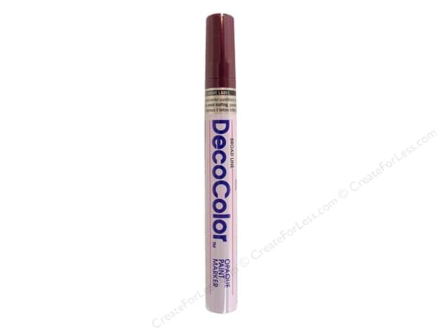 Uchida DecoColor Opaque Paint Marker Broad Point Plum
