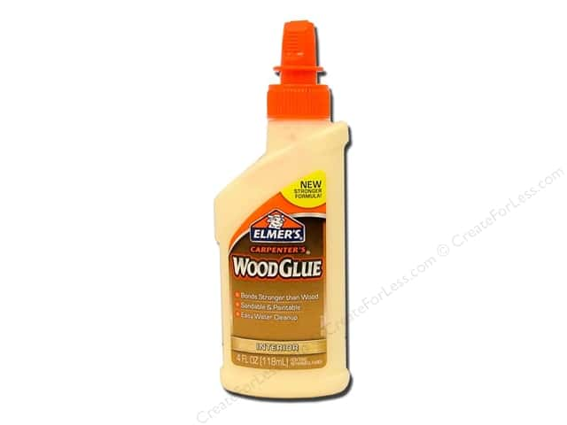 Elmer's Carpenter's Wood Glue Interior 4oz