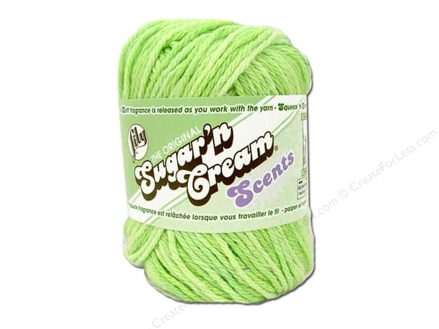 Sugar 'n Cream Yarn 95 yd. #24222 Scents Aloe Vera