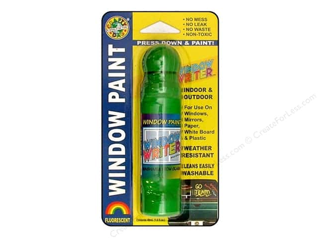 Crafty Dab Window Paint Writer 1.6 oz. Green