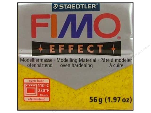 Fimo Soft Clay 2 oz. Glitter Gold