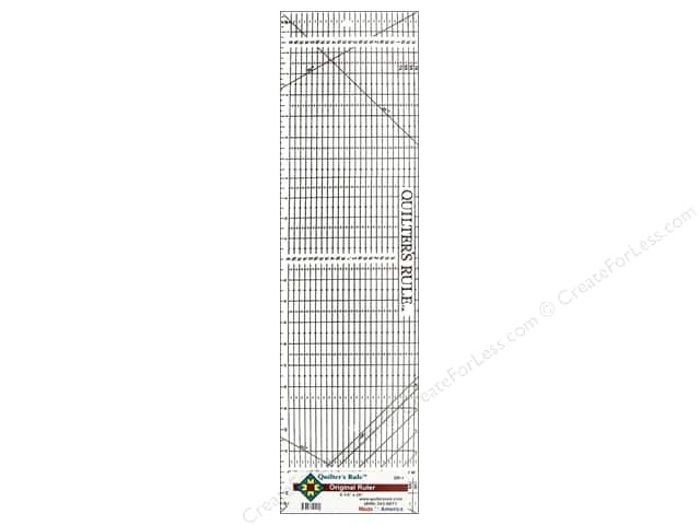 Quilter's Rule Original Ruler 6 1/2 x 24 in.