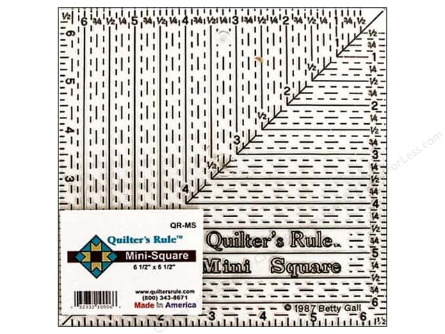 Quilter's Rule 6 1/2 in. Mini Square Ruler