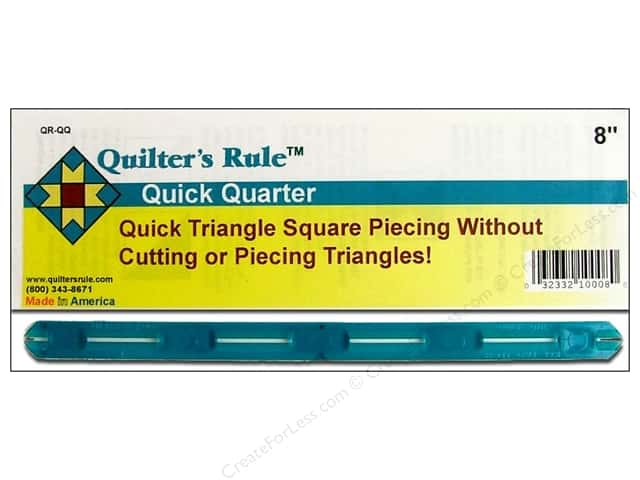 Quilter's Rule Quick Quarter 8""