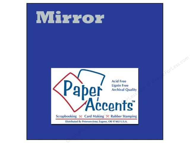 Cardstock 12 x 12 in. Mirror Blue by Paper Accents (25 sheets)