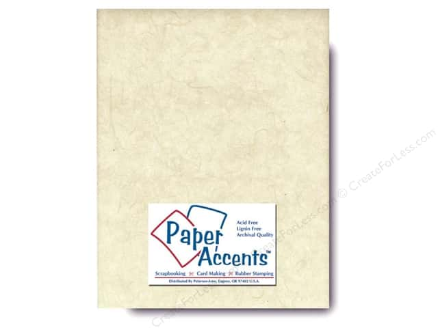 Mulberry Paper 8 1/2 x 11 in. Natural by Paper Accents (25 sheets)