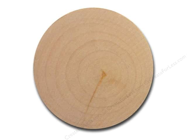 Lara's Wood Circle 2 3/8 in. Bulk Pack 24 pc.