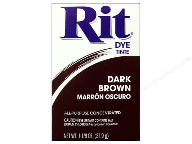 Rit Dye Powder 1 1/8 oz. Dark Brown