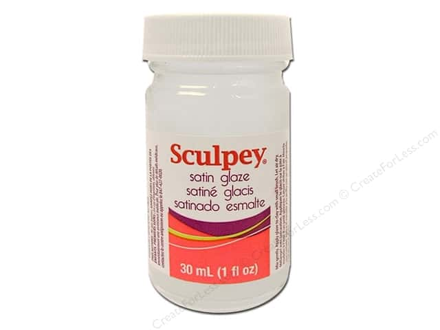 Sculpey Glaze 1oz Satin
