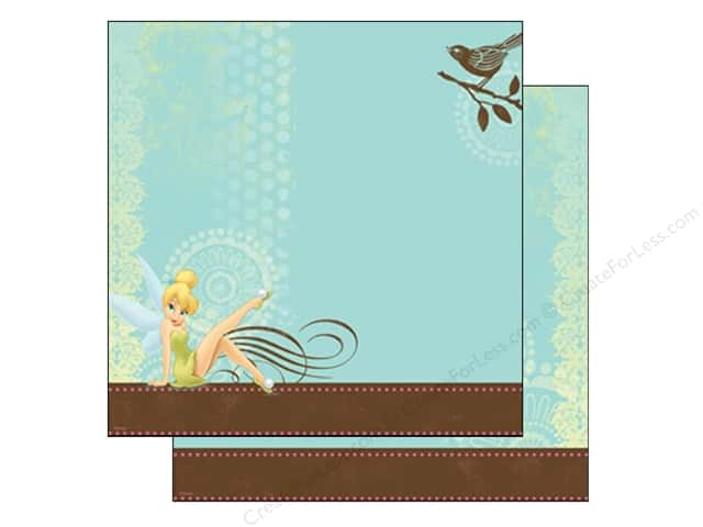 EK 12 x 12 in. Paper Disney Tinker Bell With Bird (25 sheets)