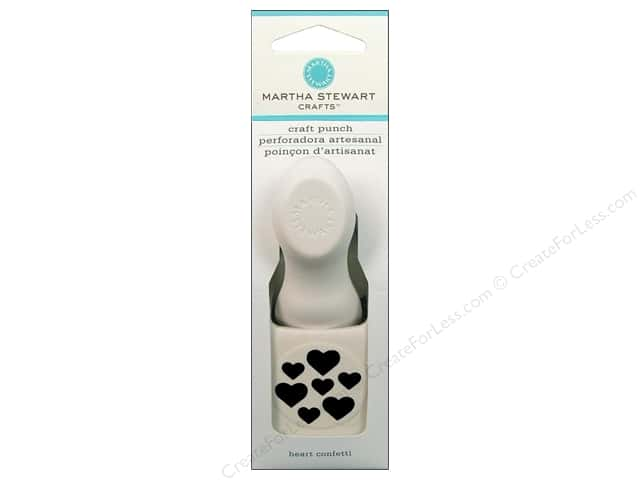 Martha Stewart Craft Punch Heart Confetti Medium