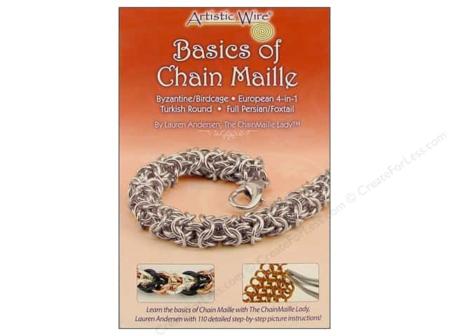 Artistic Wire Basics of Chain Maille Book by Lauren Andersen