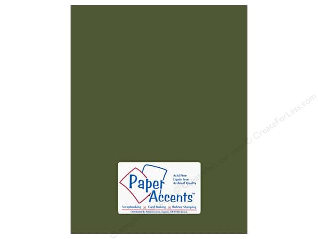 Paper Accents Cardstock 8 1/2 x 11 in. #18024 Smooth Rain Forest (25 sheets)