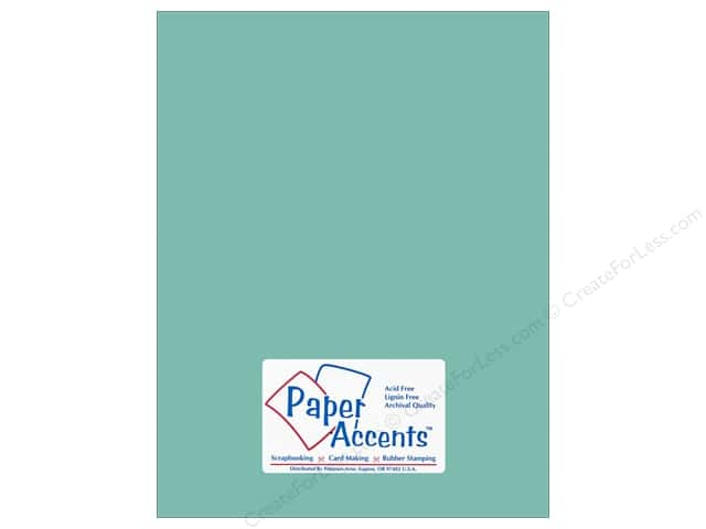 Paper Accents Cardstock 8 1/2 x 11 in. #18030 Smooth Whirlpool (25 sheets)