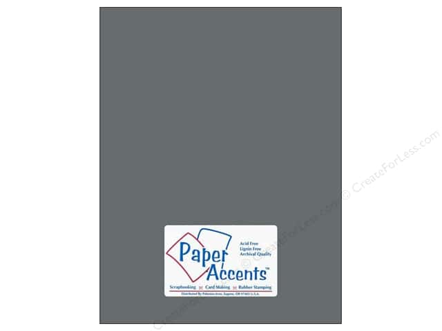 Paper Accents Cardstock 8 1/2 x 11 in. #18079 Smooth Nor'easter (25 sheets)