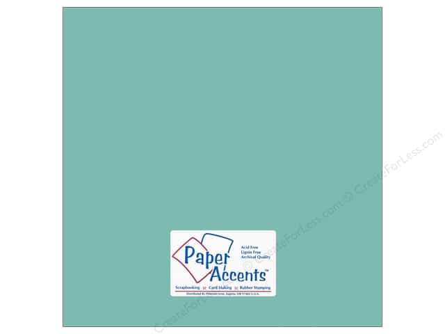 Paper Accents Cardstock 12 x 12 in. #18030 Smooth Whirlpool (25 sheets)