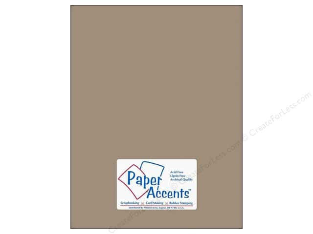 Cardstock 8 1/2 x 11 in. #18074 Smooth Stonehenge by Paper Accents (25 sheets)