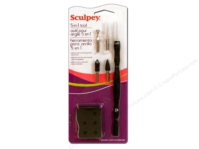Sculpey Clay Tools 5 in 1 Tool Kit