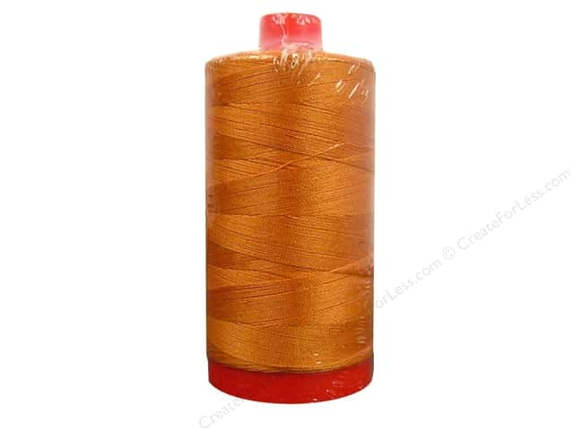 Aurifil Mako Cotton Quilting Thread 50 wt. #2235 Orange 1420 yd.
