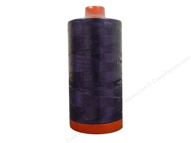 Aurifil Mako Cotton Quilting Thread 50 wt. #2581 Dark Dusty Grape 1420 yd.