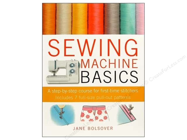 Cico Sewing Machine Basics Book by Jane Bolsover