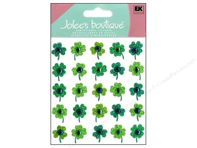Jolee's Boutique Stickers Repeats Clover