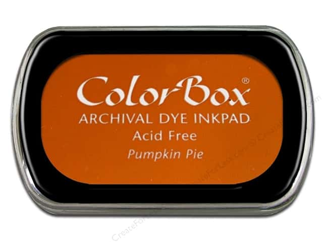 ColorBox Archival Dye Ink Pad Full Size Pumpkin Pie