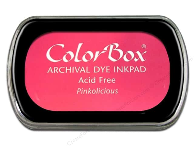 ColorBox Archival Dye Ink Pad Full Size Pinkolicious