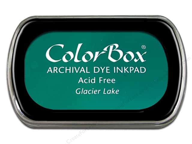 ColorBox Archival Dye Ink Pad Full Size Glacier Lake