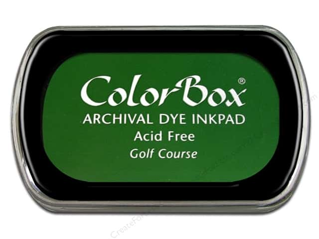ColorBox Archival Dye Ink Pad Full Size Golf Course