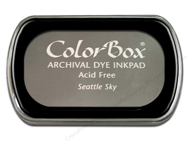 ColorBox Archival Dye Ink Pad Full Size Seattle Sky