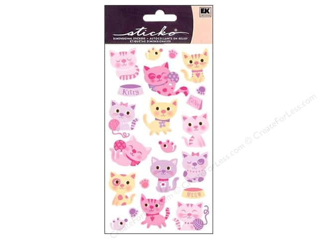 EK Sticko Stickers Kitty Cats