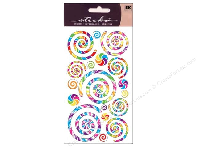 EK Sticko Stickers Swirls and Twirls