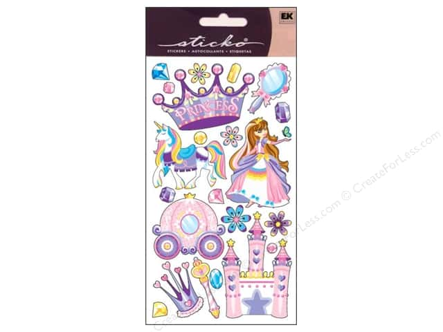 EK Sticko Stickers Princess