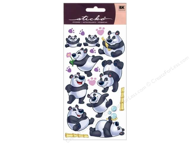 EK Sticko Stickers Rolly Polly Panda