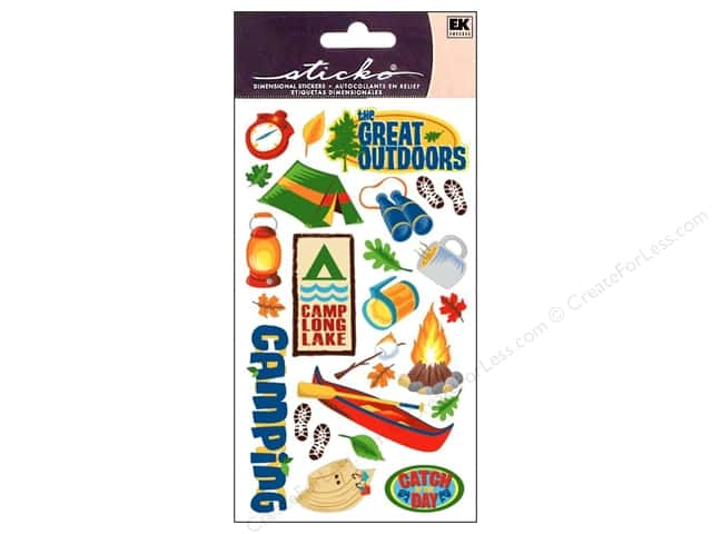 EK Sticko Stickers The Great Outdoors