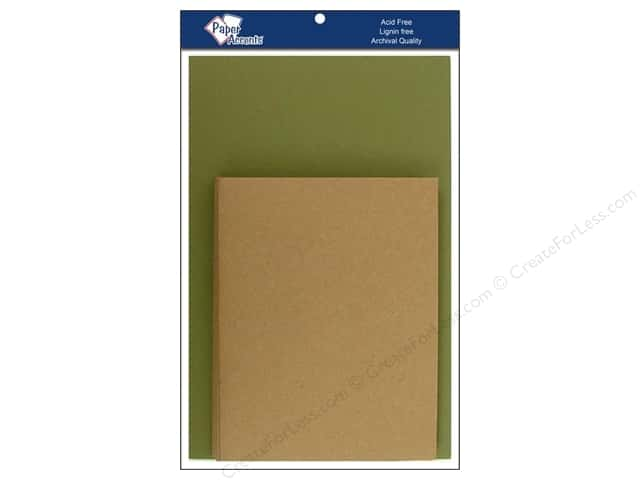 4 1/4 x 5 1/2 in. Blank Card & Envelopes by Paper Accents 8 pc. Camo/Brown Bag