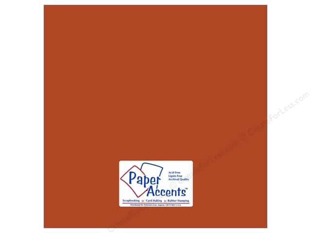 Cardstock 12 x 12 in. #81 Smooth Cumin by Paper Accents (25 sheets)