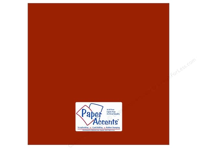 Paper Accents Cardstock 12 x 12 in. #18004 Smooth Macintosh (25 sheets)