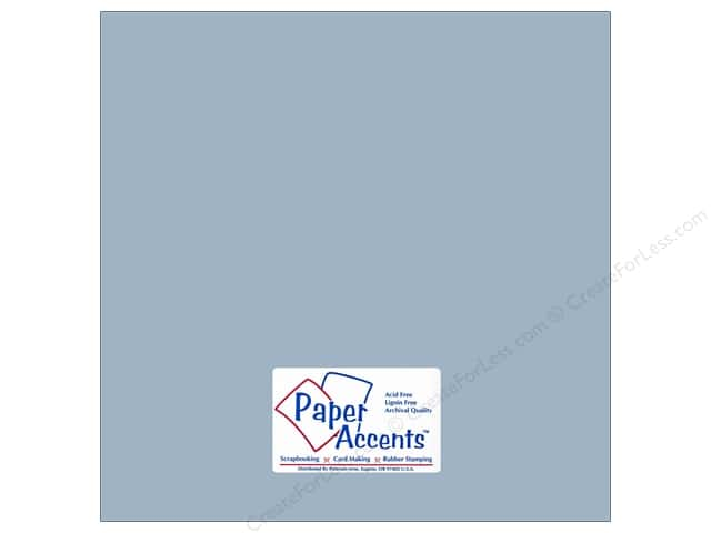 Paper Accents Cardstock 12 x 12 in. #18038 Smooth Summer Rain (25 sheets)