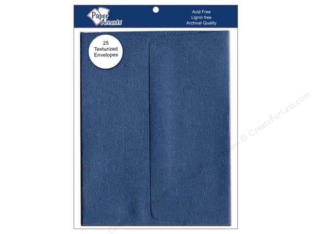 4 1/4 x 5 1/2 in. Envelopes by Paper Accents 25 pc. #756 Blue Jeans
