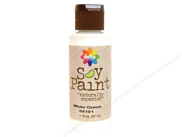 Delta Soy Paint 2oz White Onion