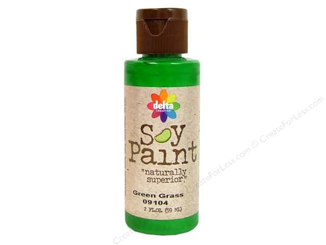 Delta Soy Paint 2oz Green Grass