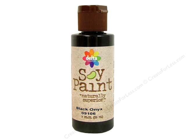Delta Soy Paint 2oz Black Onyx