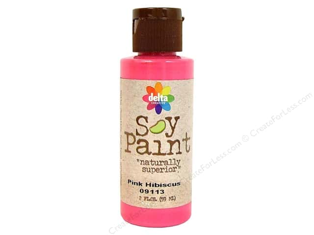 Delta Soy Paint 2oz Pink Hibiscus