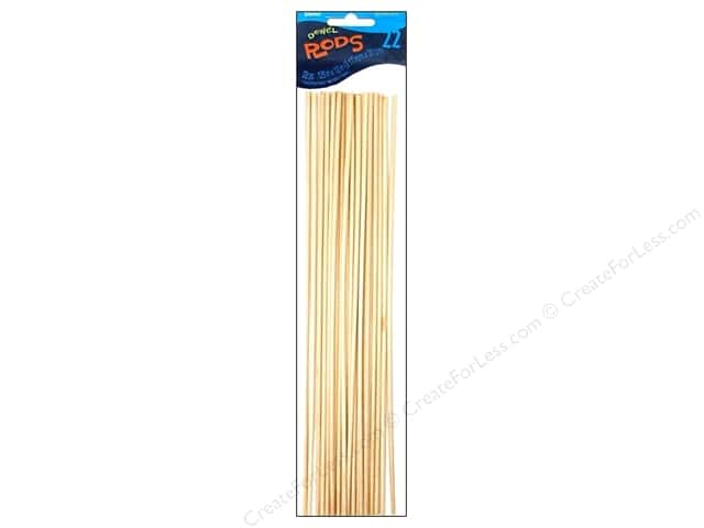 Darice Wood Dowels 12 x 1/8 in. 22 pc.
