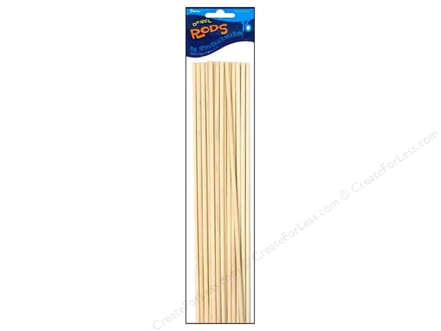 Darice Wood Dowels 12 x 3/16 in. 16 pc.