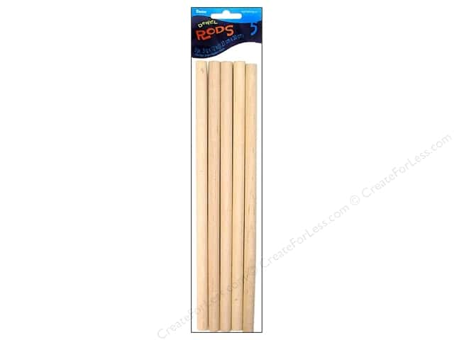 Darice Wood Dowels 12 x 1/2 in. 5 pc.