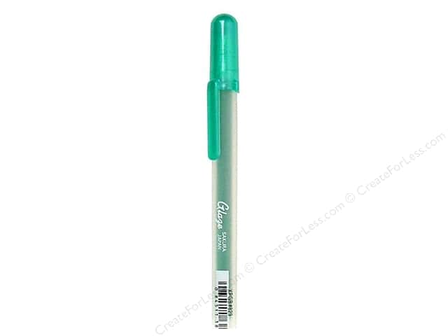 Sakura Glaze 3-D Glossy Ink Pen Green